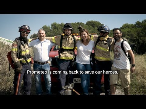 AI-based firefighter safety startup Prometeo wins IBM Call for Code Challenge