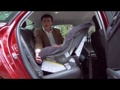 2015 Ford Fusion Child Seat / Infant Seat Review – In 4K