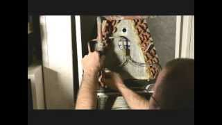 HVAC Dirty Evaporator Coil Removal, Cleaning and Reinstall in Air Conditioning Unit. Part 1