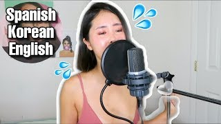 TRYING TO SING IN SPANISH! Paloma Mami - Don't Talk About Me