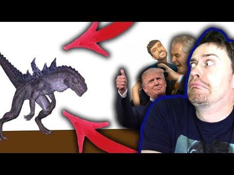 Zemanův alligátor vs. Godzilla. Kdo vyhraje?!