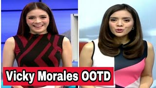 Vicky Morales - Outfit 24 Oras | Vicky Morales Outfit Reaction