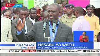 Naibu wa Rais William Ruto asema Wakenya wote watahesabiwa