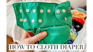 Easy Cloth Diapering For Beginners Q&A! Wash/Dry Routine + Storage Set Up! Alva Baby 2020