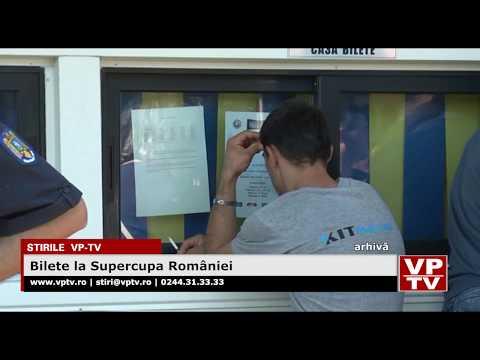Bilete la Supercupa României