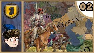 CK2: Holy Fury - Steppe Riders #1 - Honouring Tengri - Самые лучшие