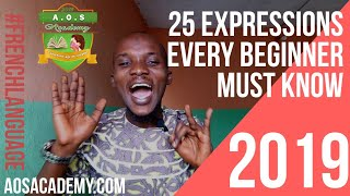 preview picture of video '25 Common Expressions Every French Beginner Must Know - Expressions with verbs 'avoir' & 'être''