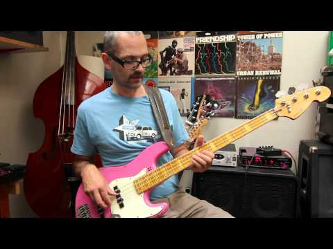 L325 Funky G minor bass lesson