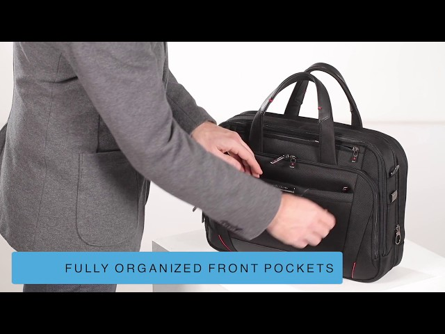 "Pro-Dlx 5 Briefcase  15.6"" video 1"