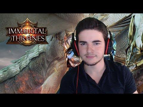 TELEFONDA OYNANAN EFSANE MMORPG! (Immortal Thrones Türkçe Oynanış)