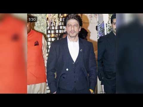 Sharukh Khan, Bachchan, Sahid Kapoor and other are Flashing in Ambani's Party