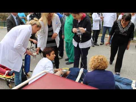 Ankara Gazi Mustafa Kemal Devlet Hastanesi 16.11.2015 tarihli Yangın (Kırmızı Kod) Tatbikatı