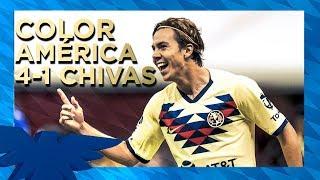 Color América 4-1 Chivas | Clásico Nacional | Estadio Azteca | Liga MX