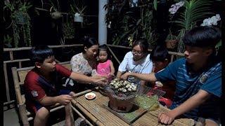 Trứng Cút Nướng của mấy em nhỏ - Hương vị đồng quê - Bến Tre - Miền Tây