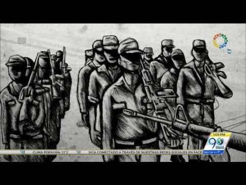 """""""Hoy es el día en que las armas se cambiaron por las palabras"""": Juan Manuel Santos"""