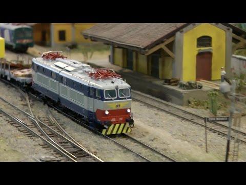Modellismo Ferroviario - Model Expo Italy Verona 2015 \ Italian Railroad Modelling