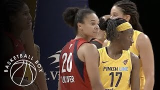 [WNBA] Washington Mystics vs Indiana Fever, Full Game Highlights, August 15, 2018