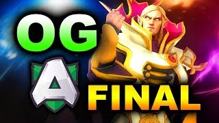 OG vs ALLIANCE - EU GRAND FINAL - STARLADDER MINOR DOTA 2