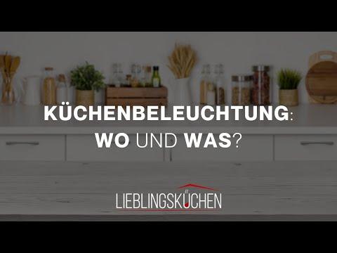 Küchenbeleuchtung: Wo und was?