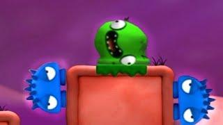 Зеленый слизнячок КАЗЮЛЬКА #2. Мультик игра для детей