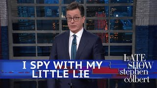 """The deep state is in deep doo doo after the President finally exposed them for what they really are... wait, what are they again?  Subscribe To """"The Late Show"""" Channel HERE: http://bit.ly/ColbertYouTube For more content from """"The Late Show with Stephen Colbert"""", click HERE: http://bit.ly/1AKISnR Watch full episodes of """"The Late Show"""" HERE: http://bit.ly/1Puei40 Like """"The Late Show"""" on Facebook HERE: http://on.fb.me/1df139Y Follow """"The Late Show"""" on Twitter HERE: http://bit.ly/1dMzZzG Follow """"The Late Show"""" on Google+ HERE: http://bit.ly/1JlGgzw Follow """"The Late Show"""" on Instagram HERE: http://bit.ly/29wfREj Follow """"The Late Show"""" on Tumblr HERE: http://bit.ly/29DVvtR  Watch The Late Show with Stephen Colbert weeknights at 11:35 PM ET/10:35 PM CT. Only on CBS.  Get the CBS app for iPhone & iPad! Click HERE: http://bit.ly/12rLxge  Get new episodes of shows you love across devices the next day, stream live TV, and watch full seasons of CBS fan favorites anytime, anywhere with CBS All Access. Try it free! http://bit.ly/1OQA29B  --- The Late Show with Stephen Colbert is the premier late night talk show on CBS, airing at 11:35pm EST, streaming online via CBS All Access, and delivered to the International Space Station on a USB drive taped to a weather balloon. Every night, viewers can expect: Comedy, humor, funny moments, witty interviews, celebrities, famous people, movie stars, bits, humorous celebrities doing bits, funny celebs, big group photos of every star from Hollywood, even the reclusive ones, plus also jokes."""
