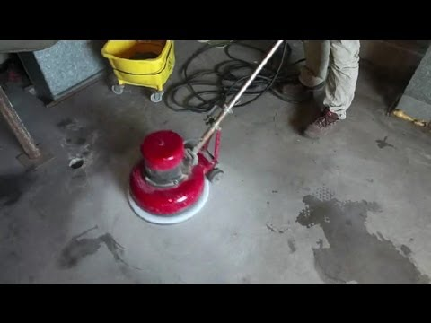 How to Remove Old Paint From Concrete Floors : Concrete Floors