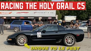 I DROVE The Holy Grail CORVETTE 1,600 Miles To Drag Race And Autocross It