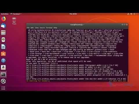 install rstudio on ubuntu 16.04