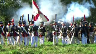 """Военно-исторический фестиваль """"Наполеоновские войны"""" . Часть 4. Контратака редута."""