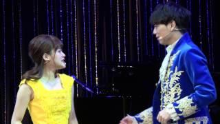 『美女と野獣』昆夏美&山崎育三郎が主題歌&ダンス生披露!