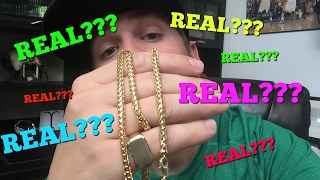 Gold chains that I sell REAL???