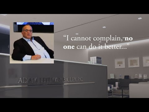 """""""I cannot complain, no one can do it better."""" testimonial video thumbnail"""