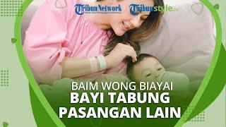 Ungkap Kebahagiaan seusai Putra Ke-2 Lahir, Baim Wong Ingin Biayai Proses Bayi Tabung Pasutri Lain