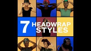 7 Ways to Tie a Headwrap