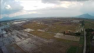 Hasil Video Footage Drone MJX Bugs B5W Tanpa Edit (Bandung 2020)