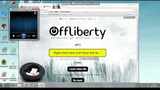 Come scaricare canzoni mp3 da offliberty e come masterizzarle