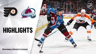 NHL Highlights | Flyers @ Avalanche 12/11/19