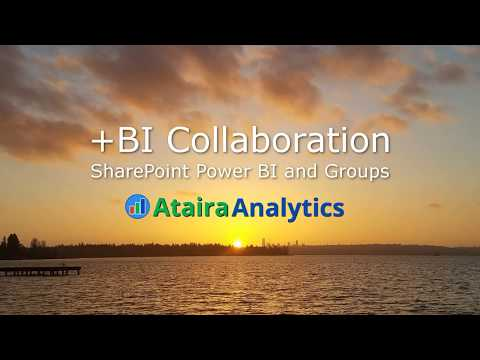 BI Collaboration for SharePoint Power BI Groups Video Demo
