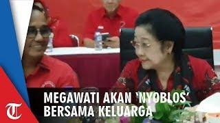 Megawati akan 'Nyoblos' Bareng Keluarga di Rumah Kebagusan