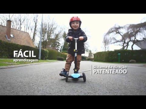 Patinete infantil B1 Oxelo - Inovação Exclusiva Decathlon