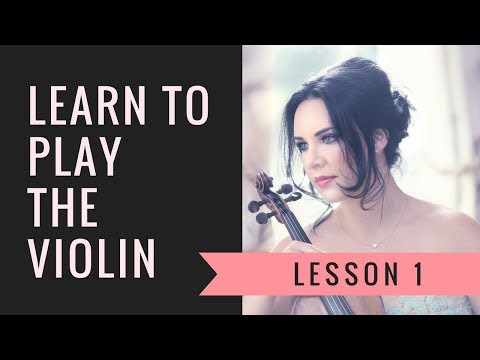 Learn the VIOLIN ONLINE | Lesson 1/30 | How to hold the violin & bow