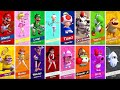 Mario Tennis Aces All Characters