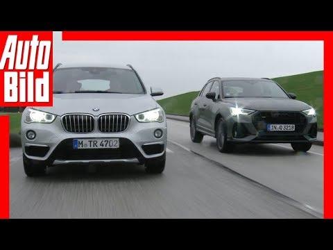 Duell hinter'm Deich: Audi Q3 gegen BMW X1 (2019) Vergleich / Test / Review