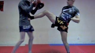 """Тайский бокс """"Как научиться драться"""" - Как остановить гопника в целях самообороны на улице"""