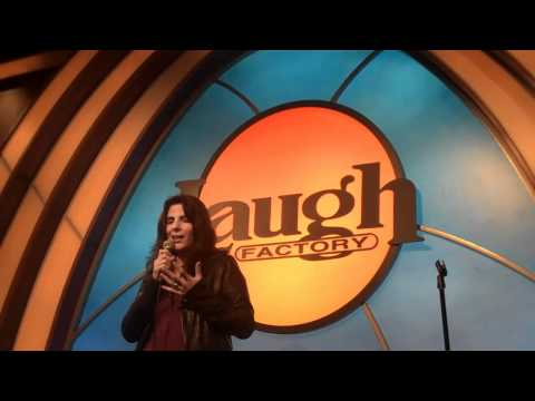 Stamie K - Performing at the Laugh Factory in LA