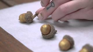 Go Nuts for Gilded Acorns