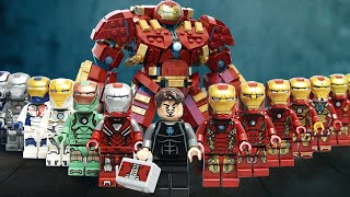LEGO Iron Man's TOMB Adventure Stolen Iron Man ARMOR