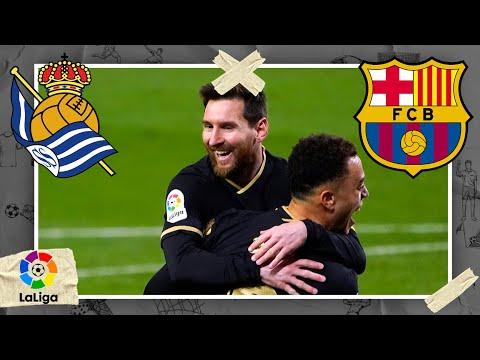 Real Sociedad vs Barcelona | LALIGA HIGHLIGHTS | 3/21/2021 | beIN SPORTS USA