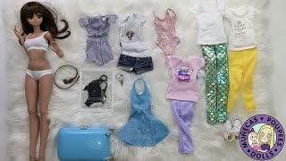 Packing For Hawaii With Smart Doll Summer: A Dress Up Video