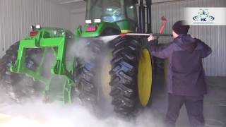 Washing Farm Equipment in Under 25 Minutes | No Brushing | Hydro-Chem Systems